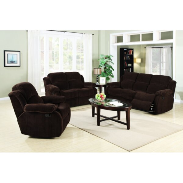 Austin Reclining Configurable Living Room Set by Flair