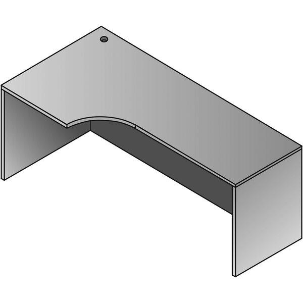 Jusino Left Curve Corner Desk