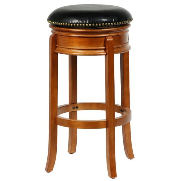Helder 33.13 Swivel Bar Stool by Darby Home Co