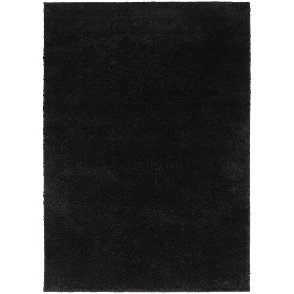 Hanson Black Area Rug by Threadbind