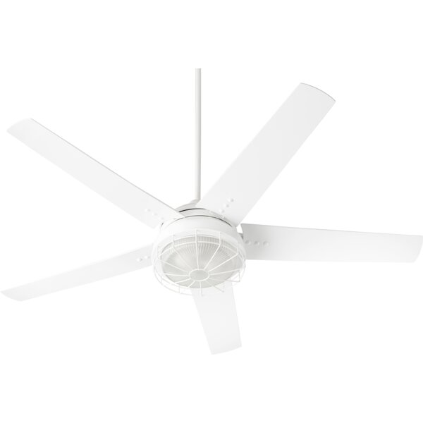 60 Polizzi 5 Blade Outdoor LED Ceiling Fan by Loon Peak
