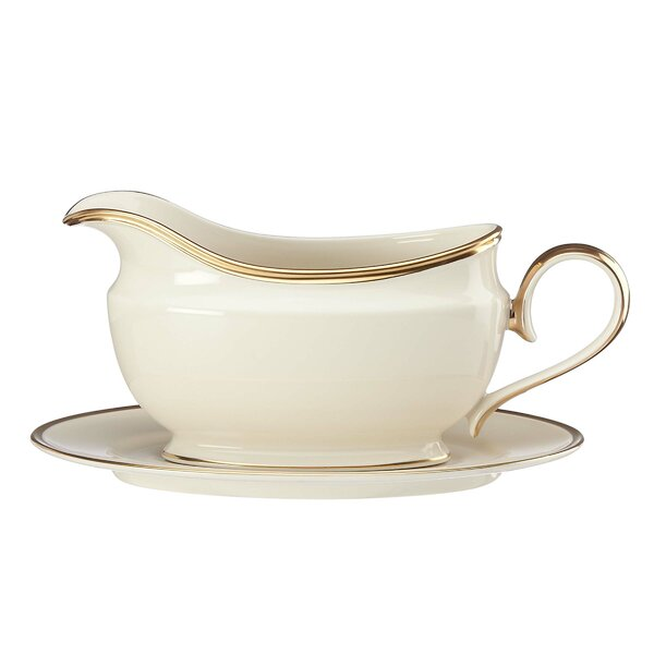 Eternal Gravy Boat by Lenox