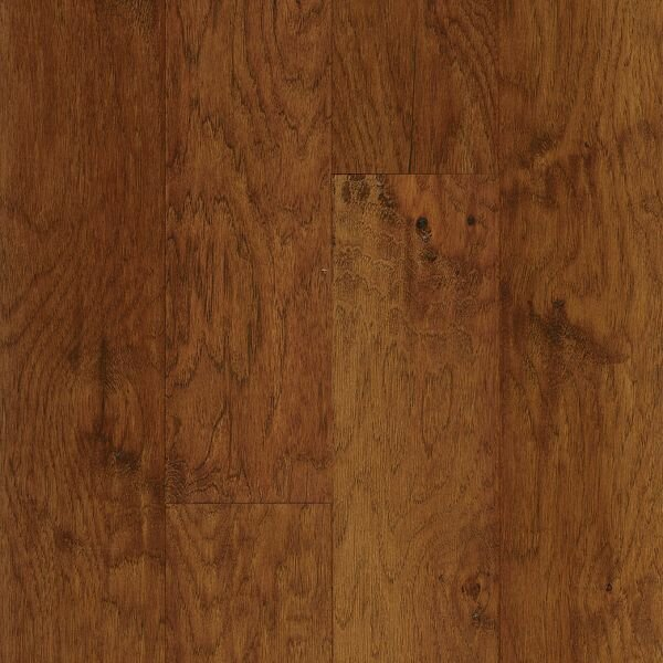 American Scrape 5 Engineered Hickory Hardwood Flooring in Cajun Spice by Armstrong Flooring