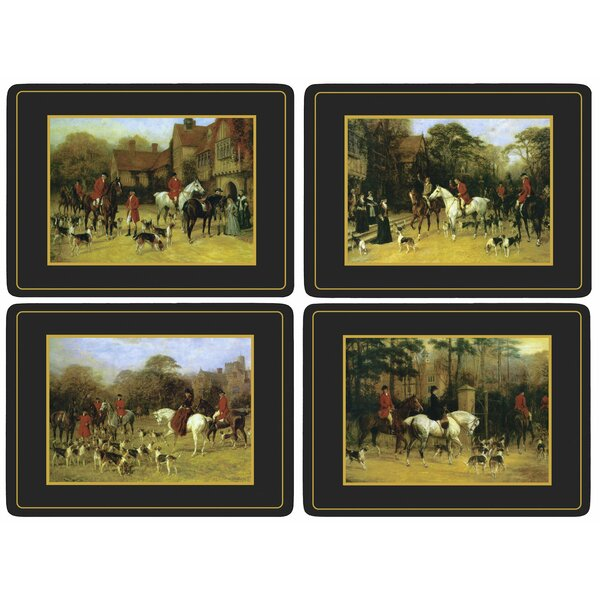 Tally Ho Placemat Set (Set of 4) by Pimpernel