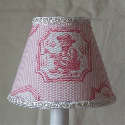 Braemore 11 Fabric Empire Lamp Shade by Silly Bear Lighting