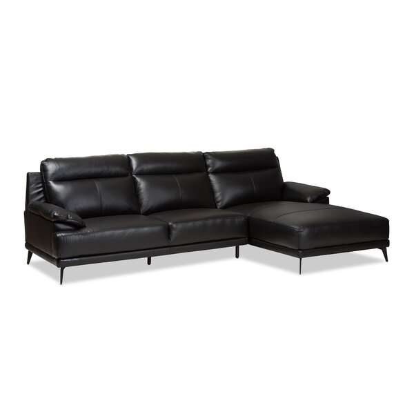 Riddles Right Facing Chaise 2-Piece Sectional by Orren Ellis
