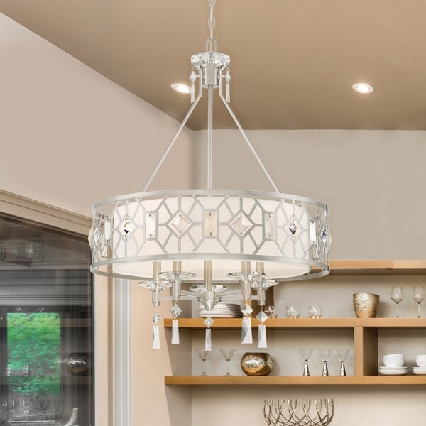 Brentwood 5-Light Chandelier by Designers Fountain