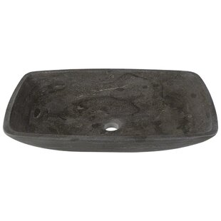 Compare Stone Rectangular Vessel Bathroom Sink By MR Direct