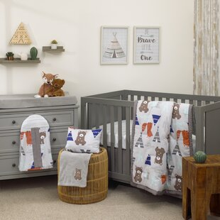 Dreamer Woodland Animal 8 Piece Crib Bedding Set