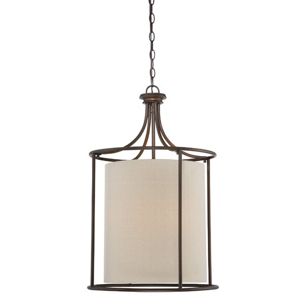 Steuben 3 - Light Lantern Square Chandelier By Red Barrel Studio