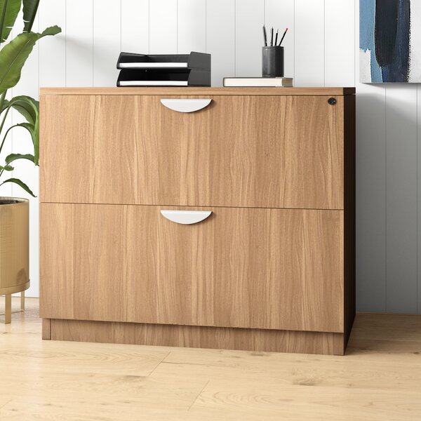 Superior Laminate 2-Drawer Lateral Filing Cabinet