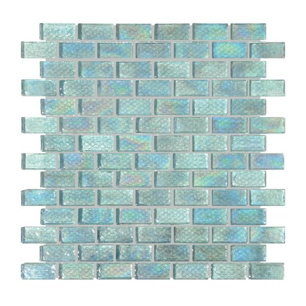 Glass Mosaic Tile in Blue by QDI Surfaces