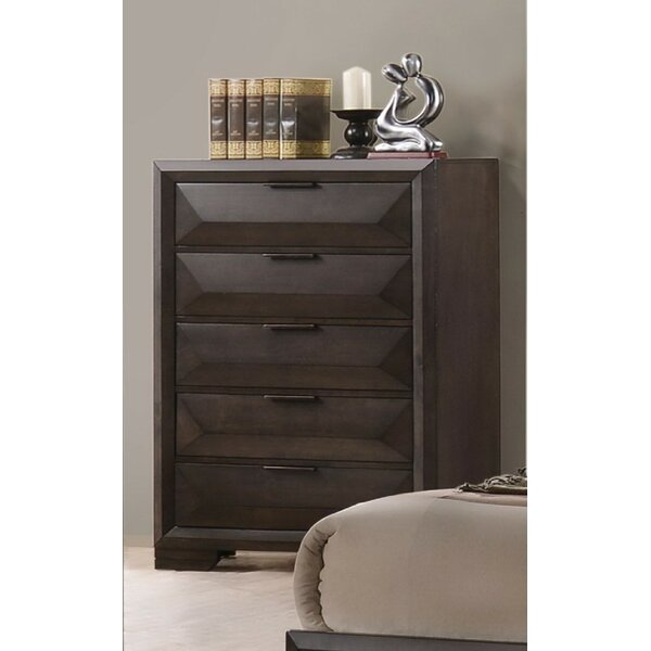 Legler 5 Drawer Chest by Ebern Designs