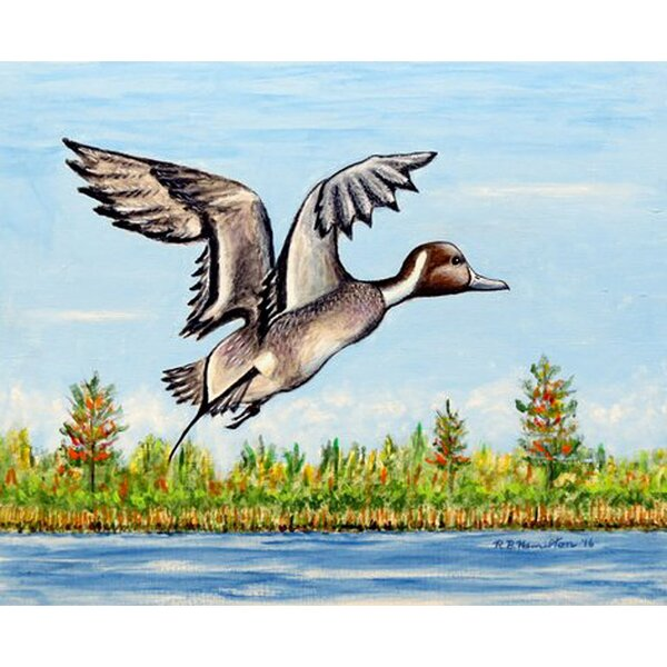 Pintail Duck Placemat (Set of 4) by Betsy Drake Interiors