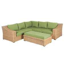 Varun 6 Pieces Deep Seating Group with Cushion