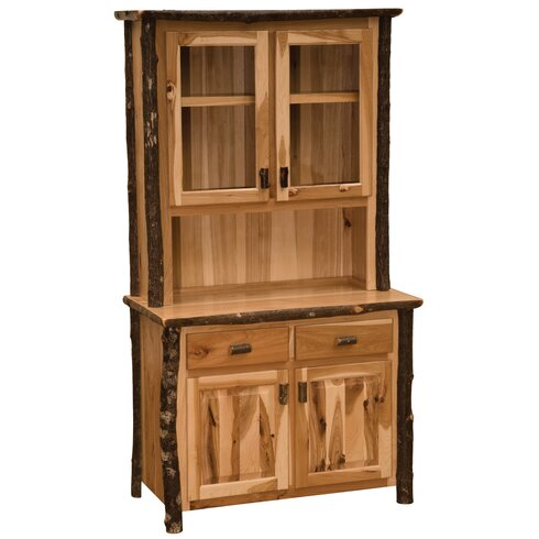 Gentil Hickory China Cabinet