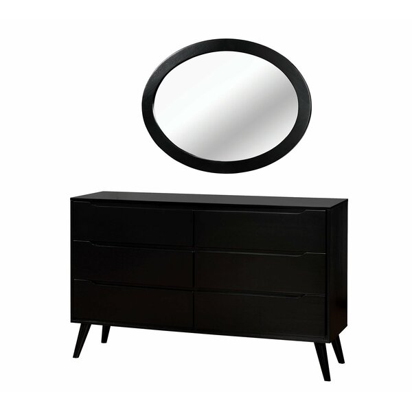 Vandervoort 6 Drawer Double Dresser by Corrigan Studio