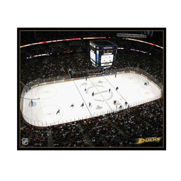 NHL Arena Photographic Print on Canvas by Artissimo Designs