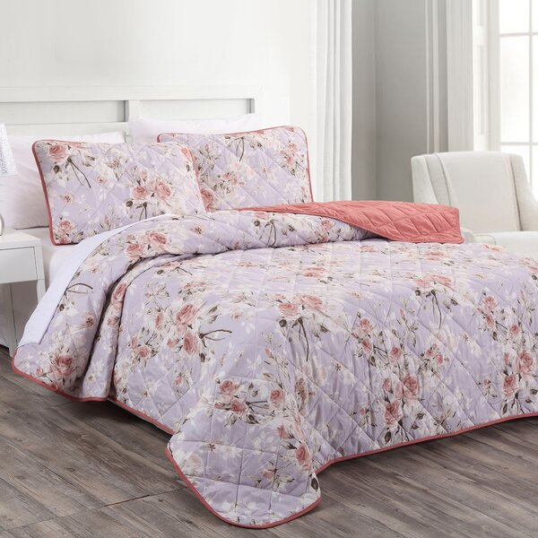 Ullery Reversible Coverlet Set by Ophelia & Co.