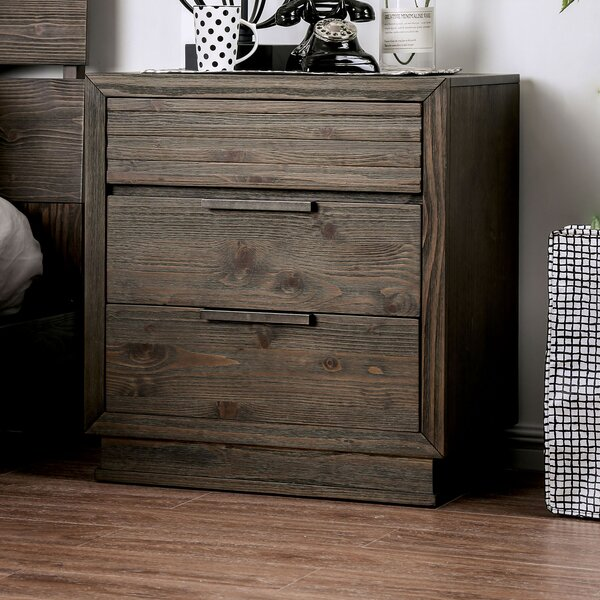 Larock 2 Drawer Nightstand by Millwood Pines