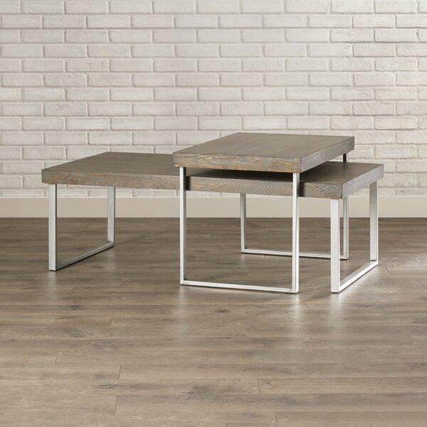 Asine 2 Piece Coffee Table Set by Mercury Row
