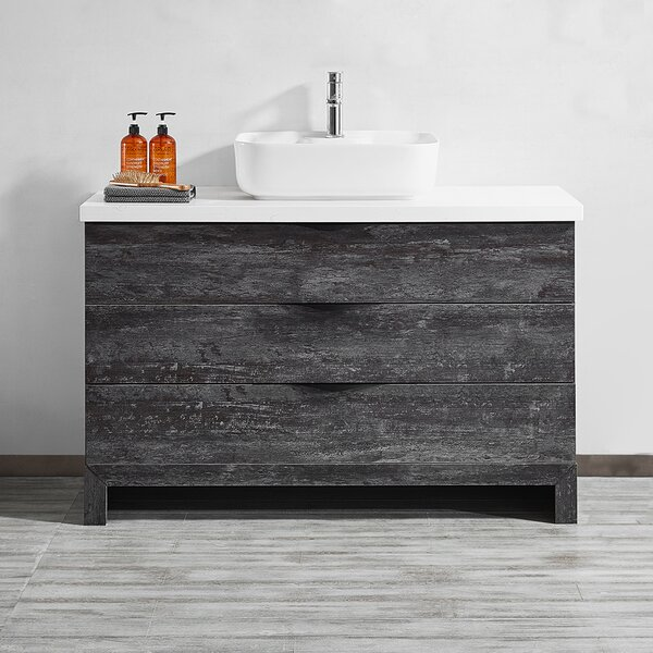 Kelsey 48 Single Bathroom Vanity Set by Union Rustic