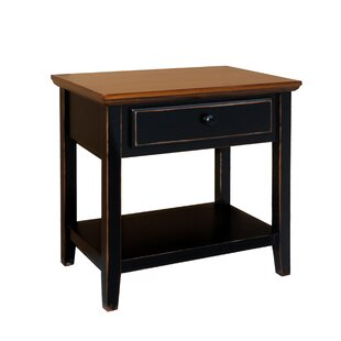 Compare & Buy Aahil Deluxe Drawer Shelf End Table By Highland Dunes