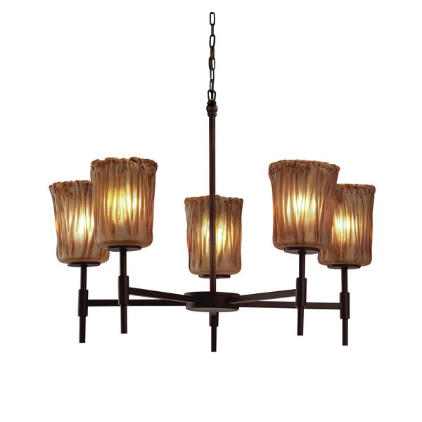 Kelli 5-Light Shaded Chandelier by Darby Home Co