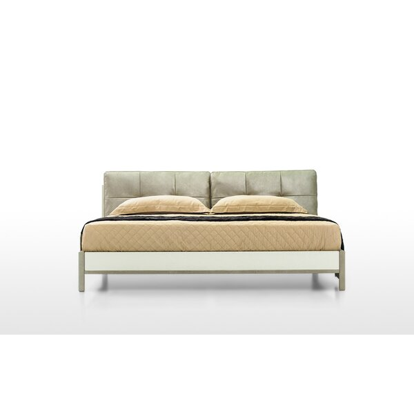 Queen Upholstered Platform Bed by Argo Furniture
