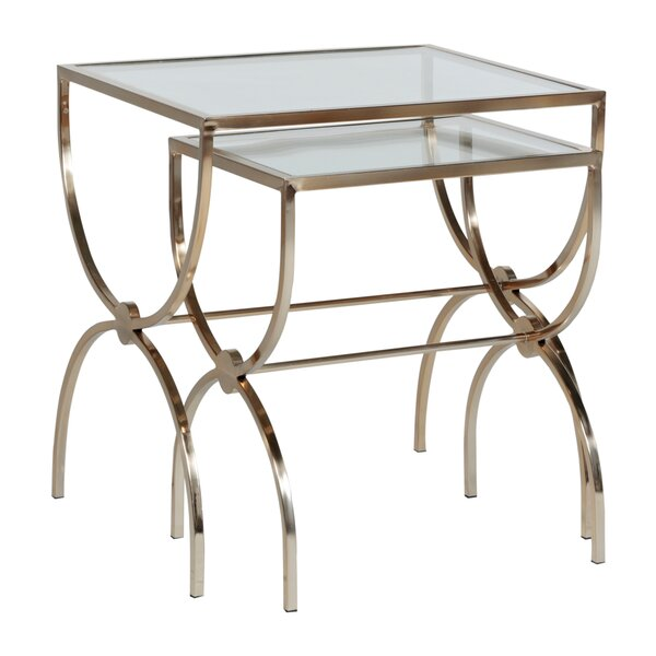 Michael 2 Piece Nesting Tables By Gabby