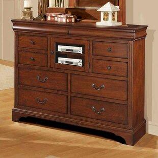 Solid Cherry Bedroom Dresser | Wayfair