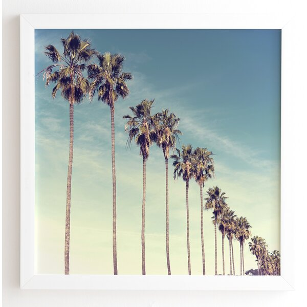 California Summer Framed Photographic Print by East Urban Home