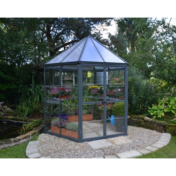 7 Ft. W x 8 Ft. D Hobby Greenhouse by Palram