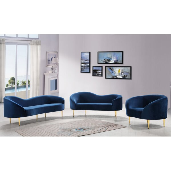 Ritz Configurable Living Room Set by Everly Quinn