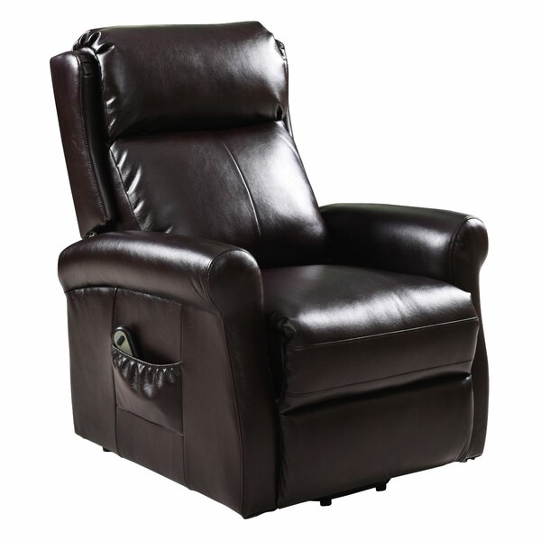 Ouray Faux Leather Power Lift Assist Recliner W003262578