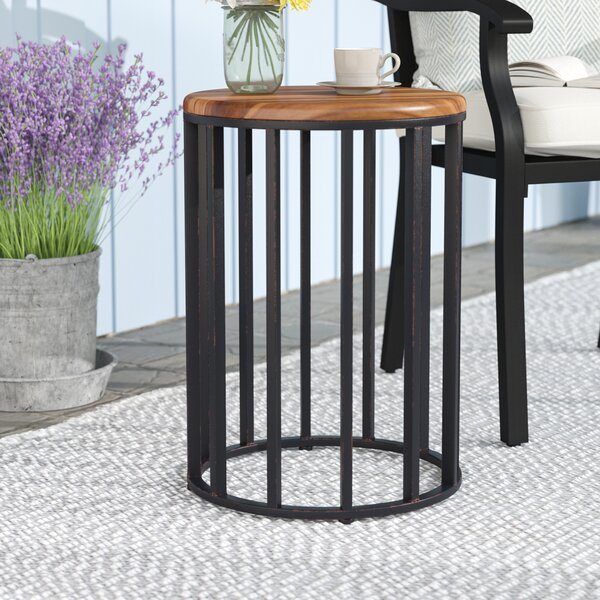 Cabo Metal Side Table by Gracie Oaks