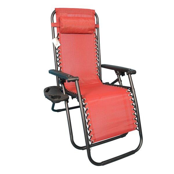 Orrington Folding Zero Gravity Chair by Freeport Park