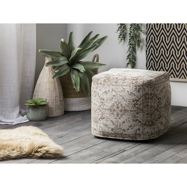 Wommack Pouf by Bungalow Rose