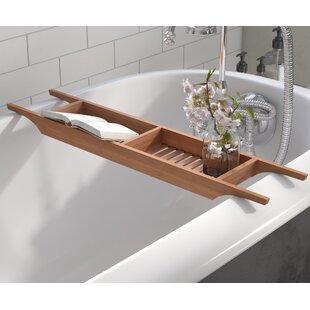 Reviews Raritan Wood Bath Caddy ByAndover Mills