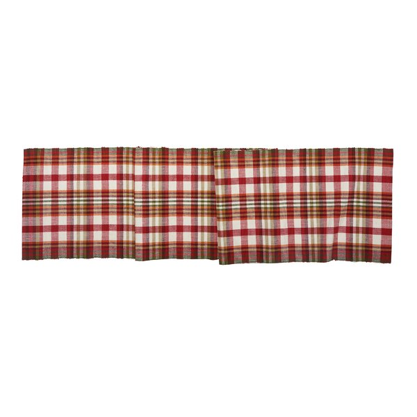 Hecker Plaid Table Runner by Alcott Hill