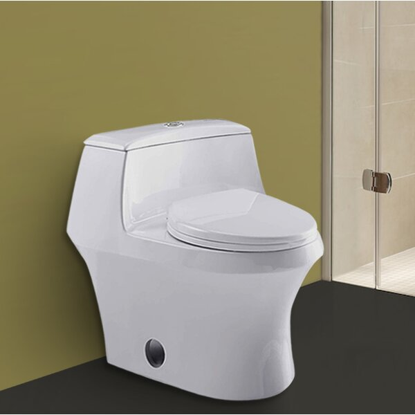 Empress 1.6 GPF Elongated One-Piece Toilet by Kevsal Inc