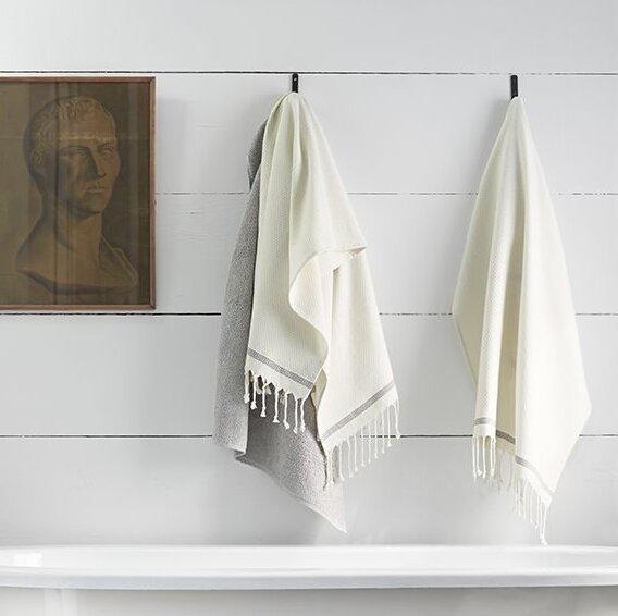 Mediterranean Cotton Washcloth by Coyuchi