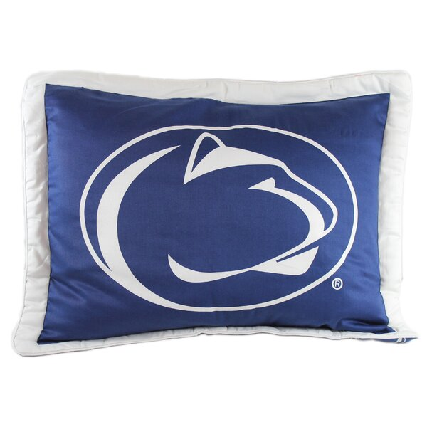 NCAA Penn State Pillow Sham by College Covers