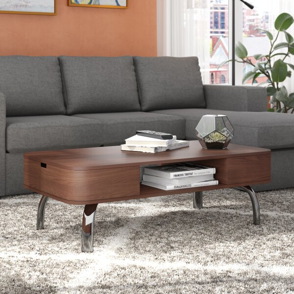 Perla Coffee Table with Storage by Langley Street