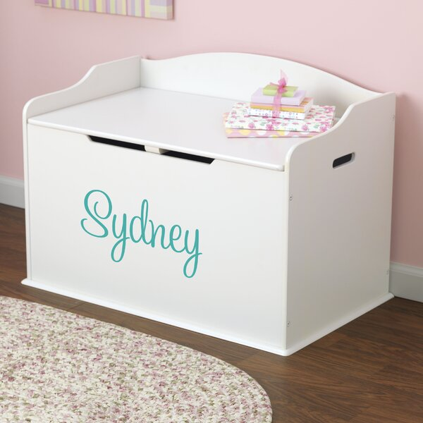 Personalized Toy Storage Bench by KidKraft