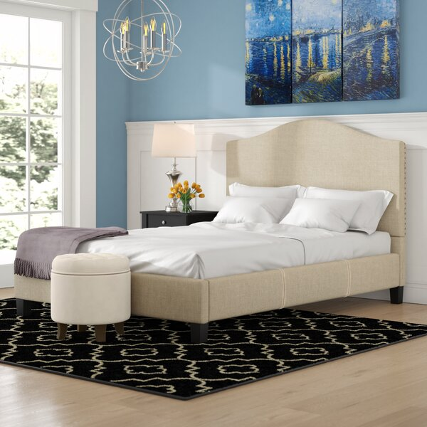 Eidelweiss Upholstered Standard Bed by Three Posts