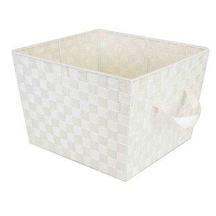 Price comparison Sheen Woven Fabric Bin By Home Basics