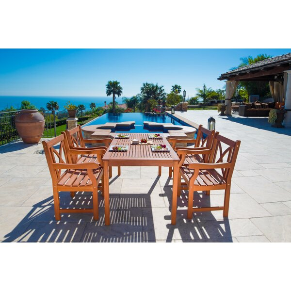 Sherita 5 Piece Dining Set by Sol 72 Outdoor Sol 72 Outdoor