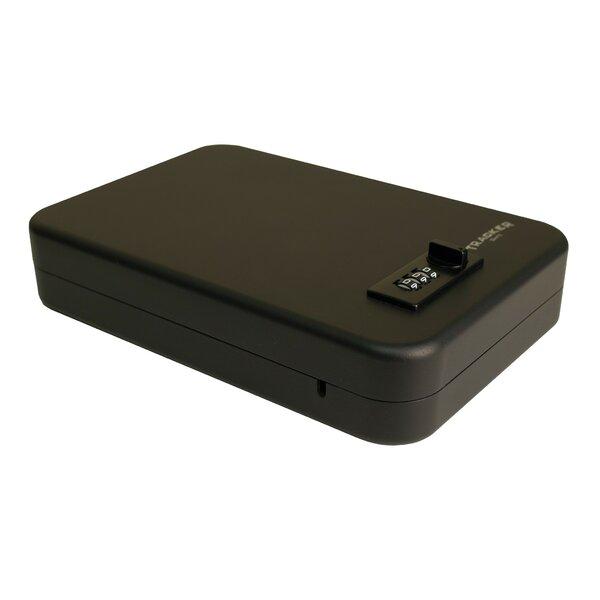 Single Pistol Combination Lock Safe Box by Tracker Safe
