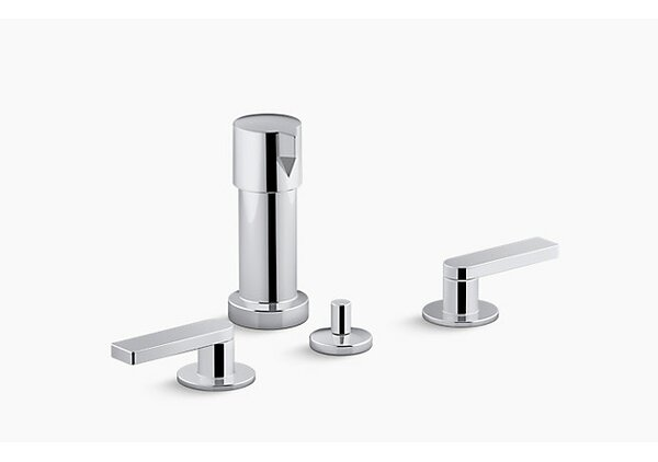 Composed® 2 Widespread Vertical Bidet Faucet by Kohler